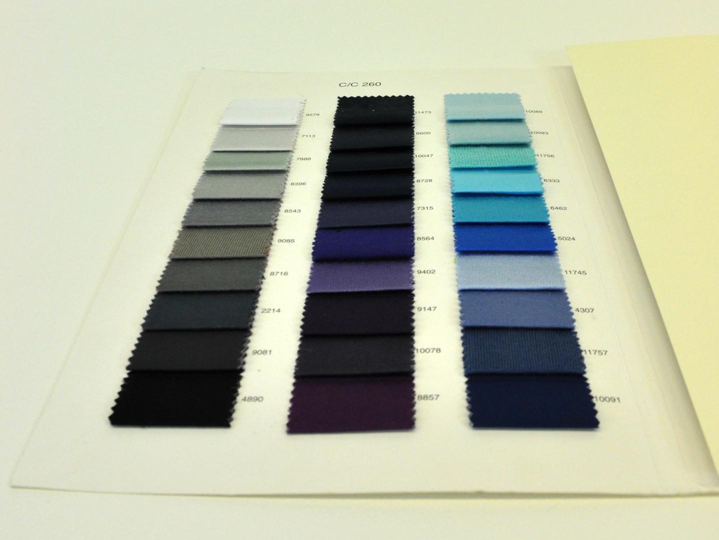 Tortora tessuto tecnico dove grey technical fabric - Tessuto Elasticizzato Ripiegato Cartella Colore Colori Centro Campionari