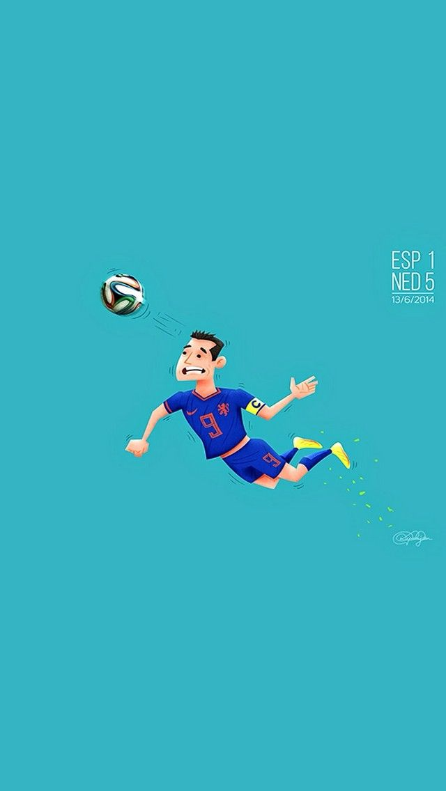 The Flying Dutchman Worldcup Football Cartoon Fanart Iphone Wallpaper Mobile9 Com Mobile9