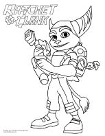 Ratchet and Clank! #Coloring Sheet #movie | Delightful Doodles ...