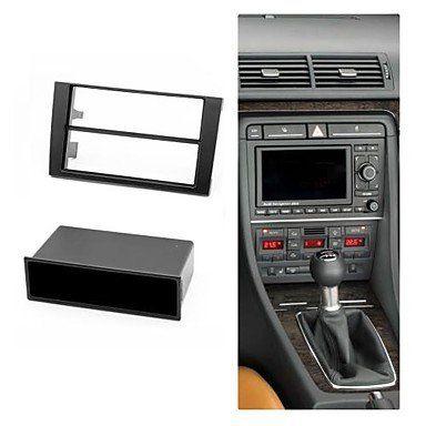 Ty Radio Fascia Facia Trim Installation Kit For Audi A4 B6 2002 2006 A4 B7 2004 2009 Seat Exeo 2009 W Pocket Black Car Ac Audi Audi A4 Cars And Motorcycles