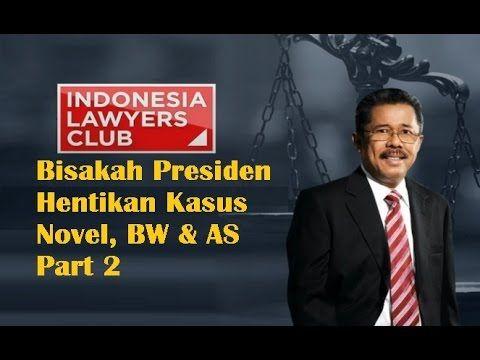 ILC 11 Februari 2016 Bisakah Presiden Hentikan Kasus Novel, BW & AS Part 2