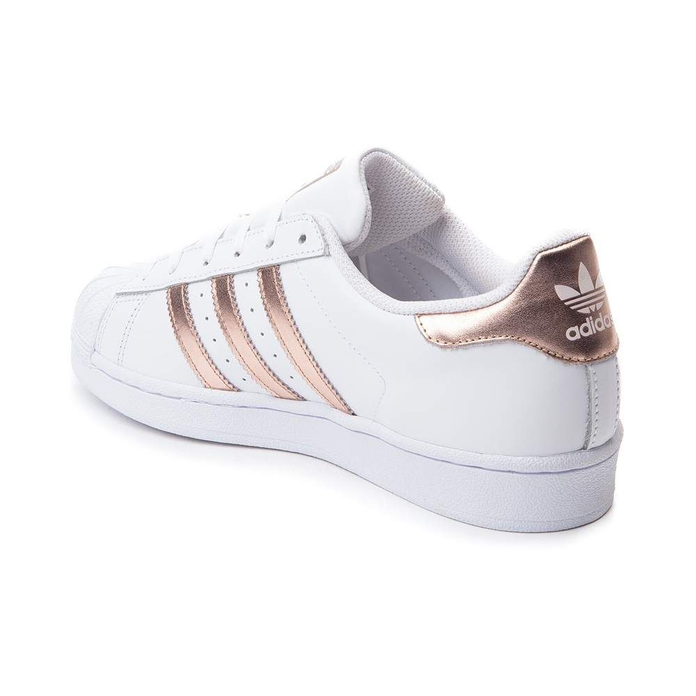 adidas superstars rose gold