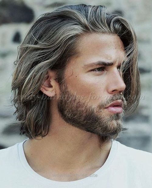 Men Hairstyles Medium Stunning Medium Length Hairstyles For Men  Hairstyles 2017… Httpwww