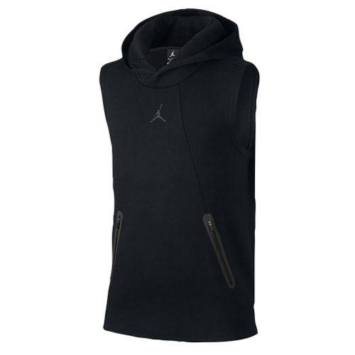 2749eb267fbe Jordan Ultimate Flight Fleece Sleeveless Hoodie - Men s at Champs Sports