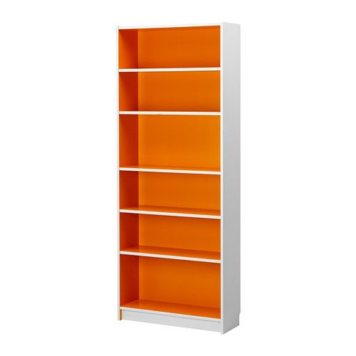BILLY Boekenkast - wit/oranje - IKEA | ideas | Pinterest | Bookcase ...
