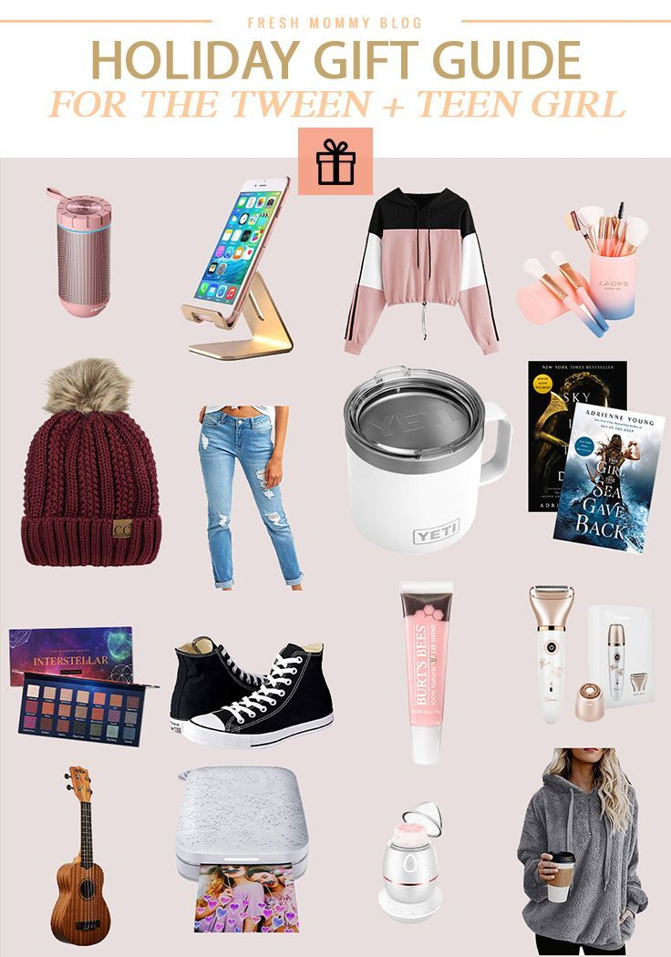 Holiday Gift Guide Top 16 Best Gifts for Tween Girls on