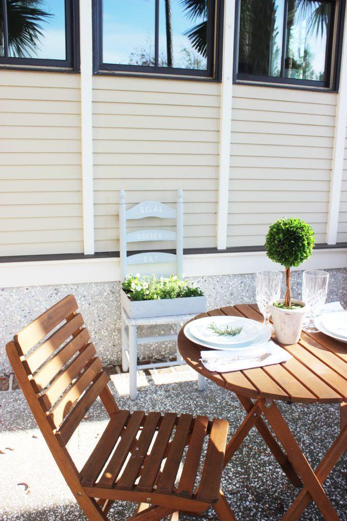 How To Create a Herb Garden From a Chair #gartenrecycling