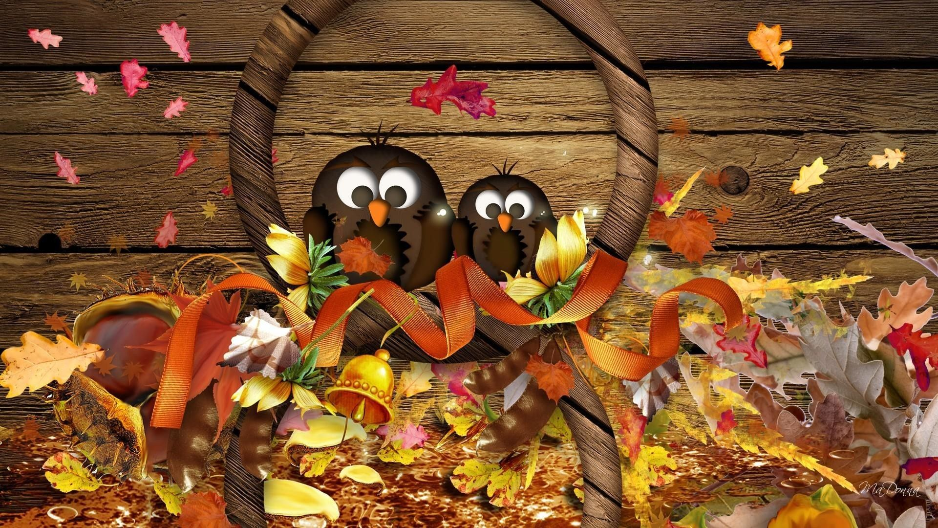 Lovely Thanksgiving Laptop Wallpaper #happyfallyallwallpaper