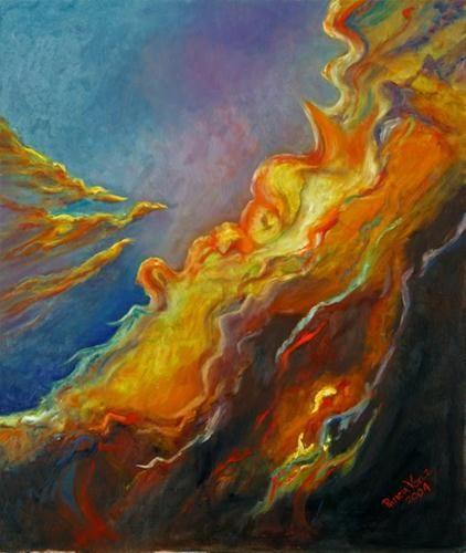 """Nebula"" by Patricia Voelz"