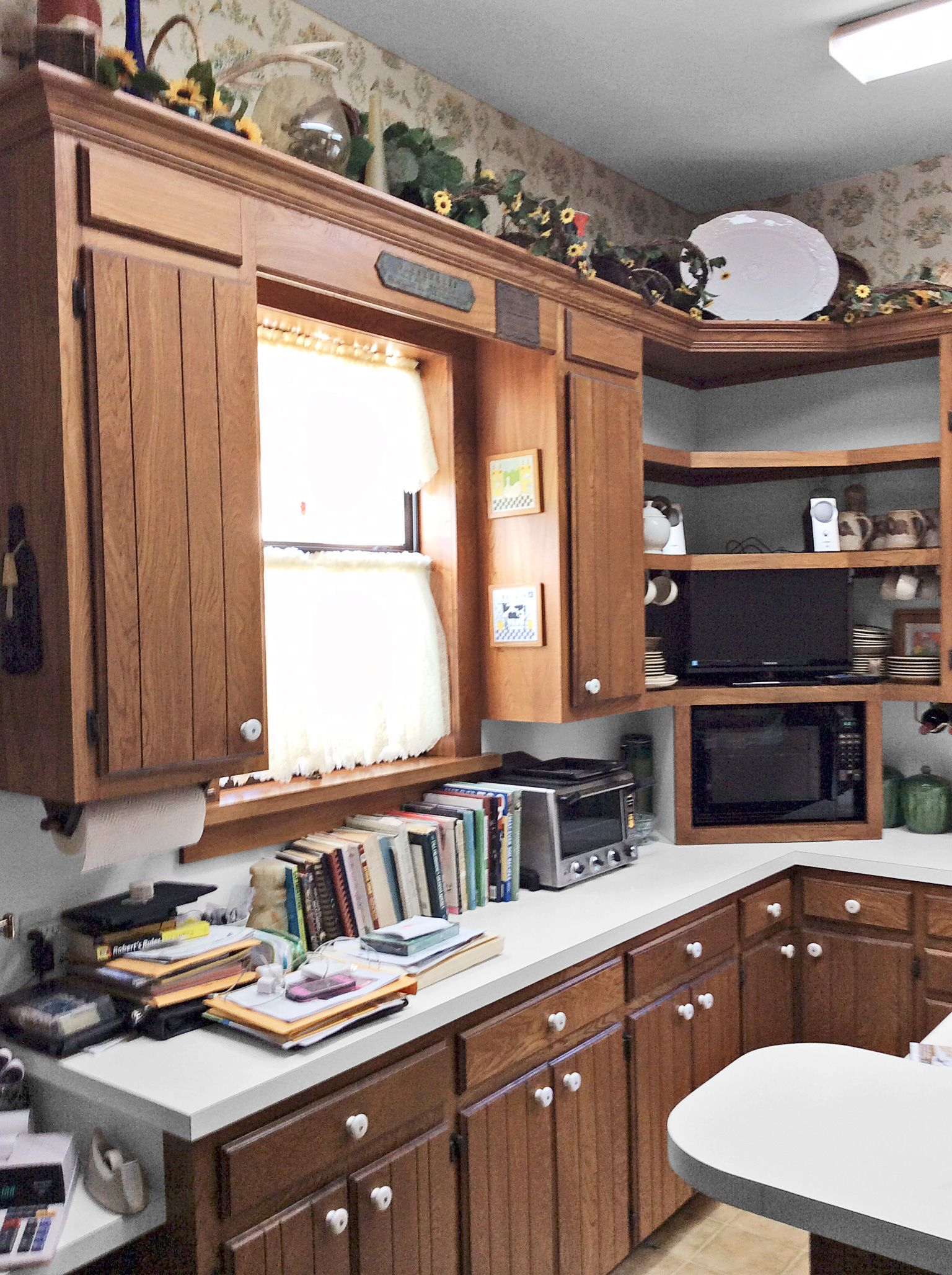 Before And After A Kitchen Well Done Green Kitchen Cabinets Best Kitchen Cabinets Kitchen Appliance Storage