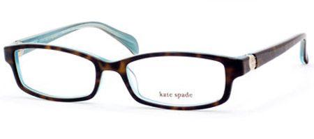 Kate Spade Elisabeth Eyeglasses Frames : Kate Spade Elisabeth Eyeglasses Tortoise, Aqua and Eye ...