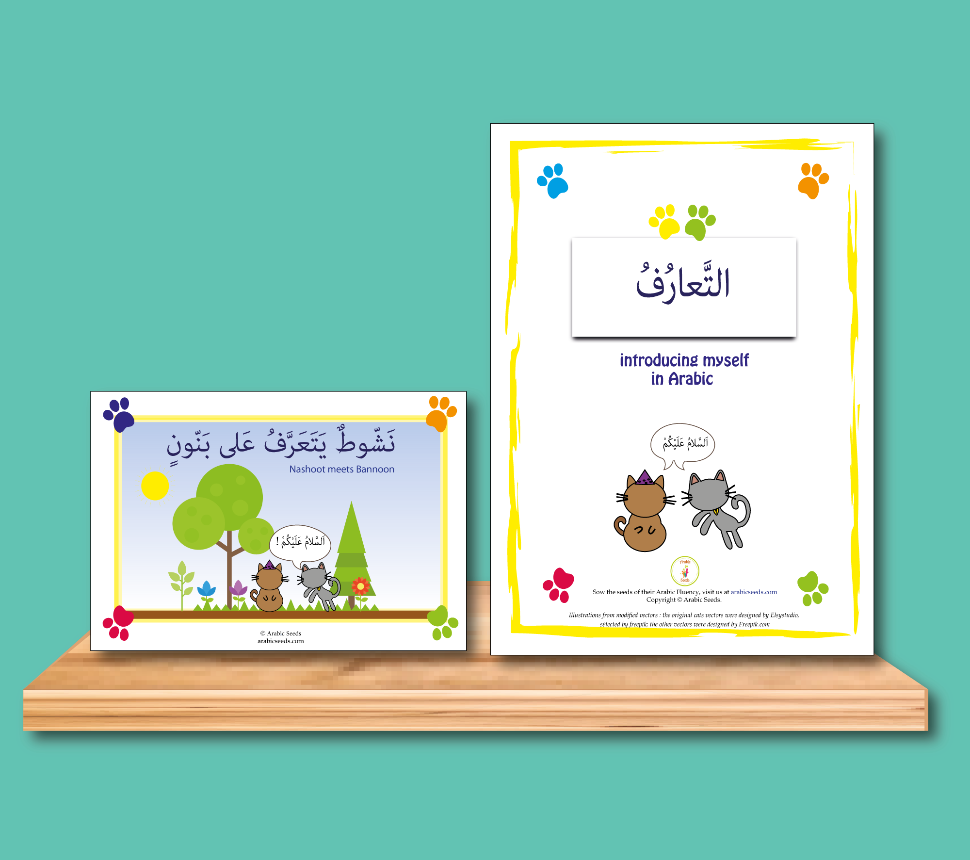 Get These Arabic Worksheets With English For Young Kids