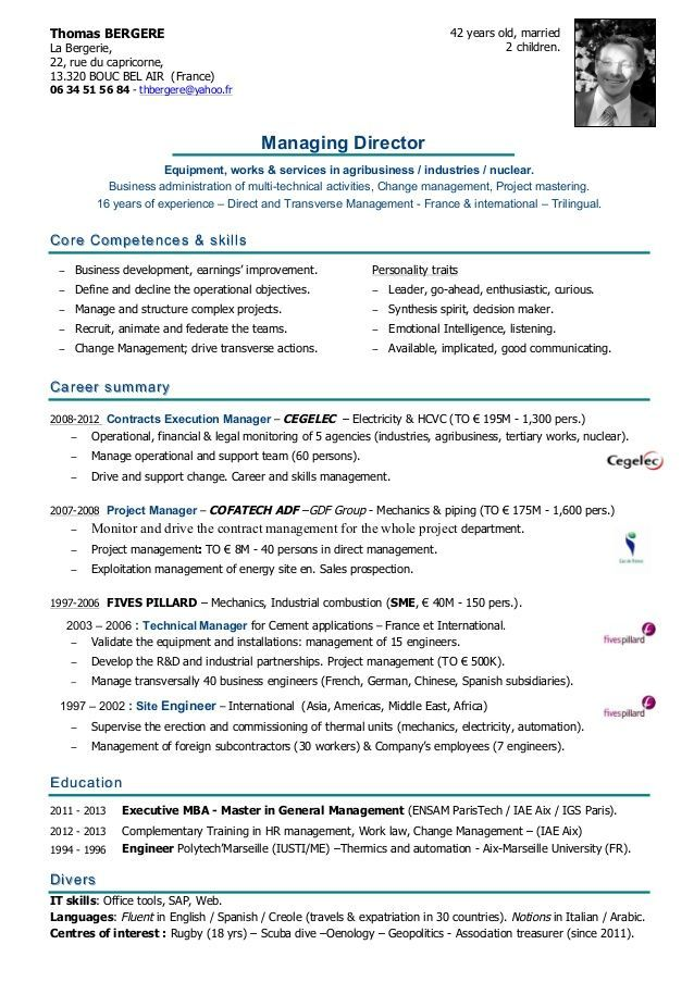 For 50 Year Olds Good resume examples, Professional