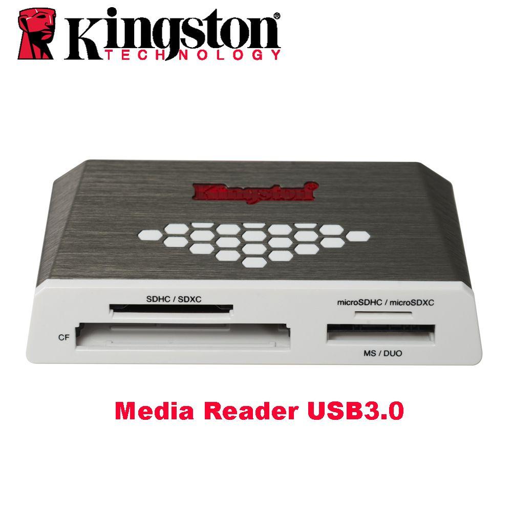 Kingston Micro Sd Card Reader Usb 3 0 Media Reader External Cf Tf