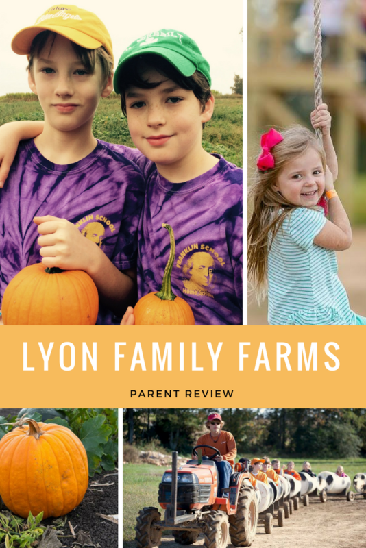 Parent Review Lyon Family Farms is Fun for All Ages