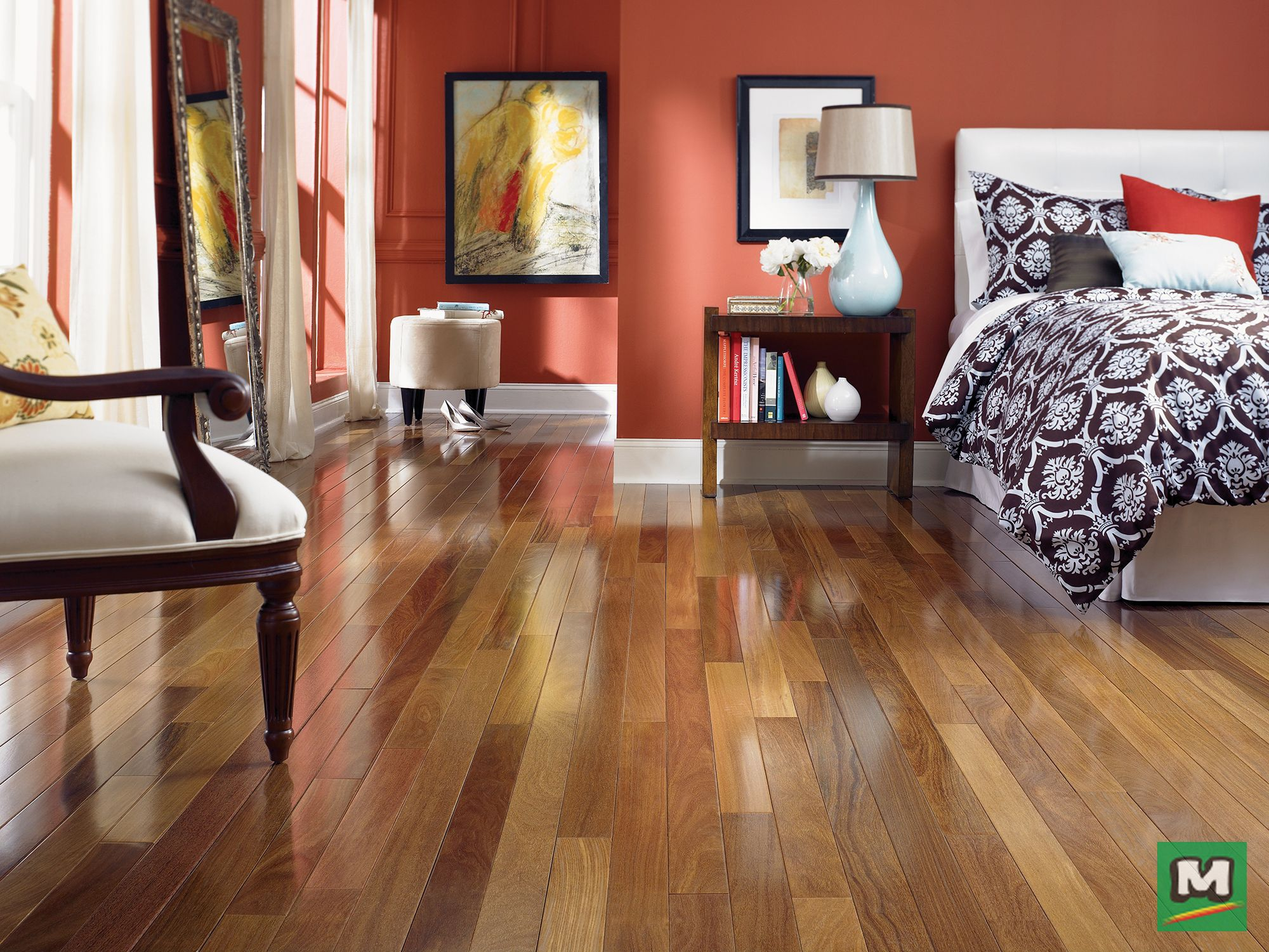 With Its Extended 7 Foot Random Board Lengths Great Lakes 1 2 Inch Cumaru Natural Engineered Hardwood Flooring Will Br Flooring Hardwood Floors Teak Flooring