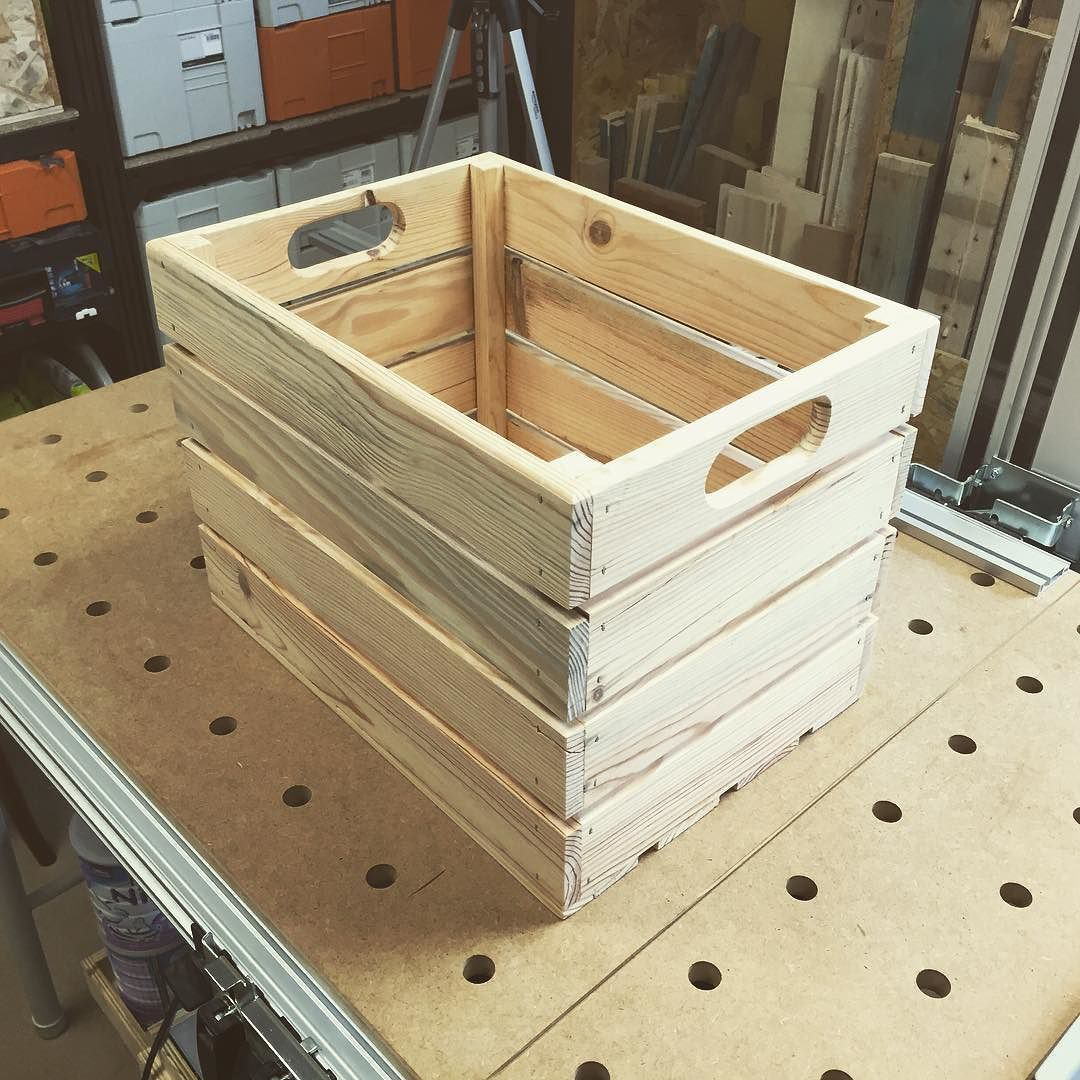 New Video On Youtube Link In Bio How To Make A Wood Crate