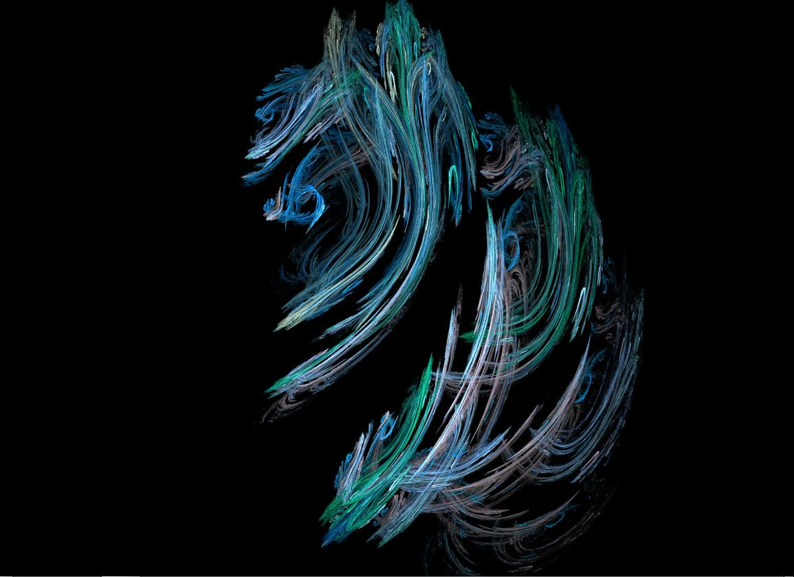 Khu052 - Fractal flame sea dragon