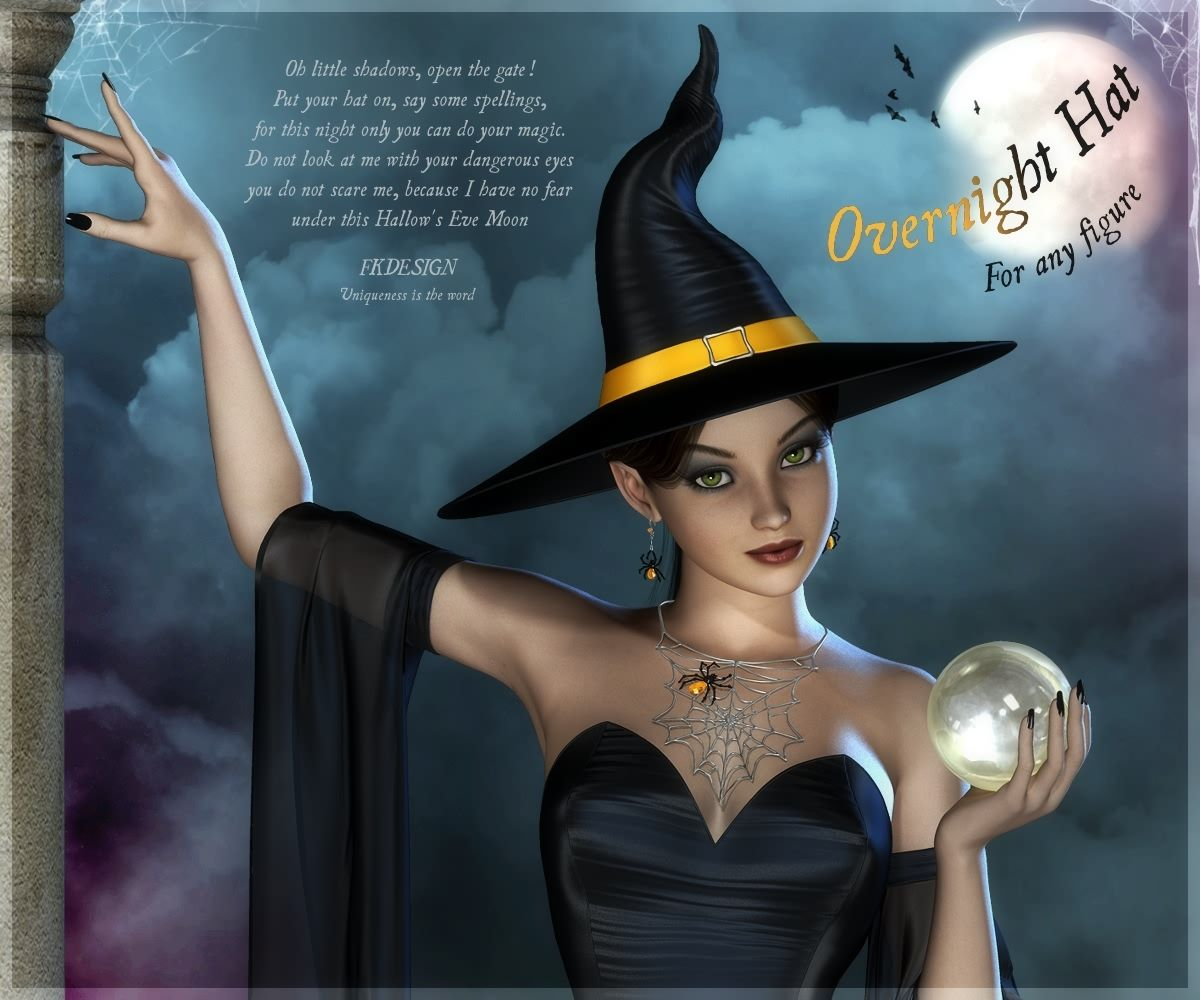 Gran noche de Halloween con Overnight Hat