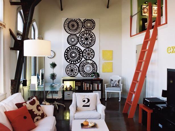 Inspiring Budgetsavvy Living Rooms  Hgtv Living Rooms And Room Simple Hgtv Living Room Design Ideas Design Ideas