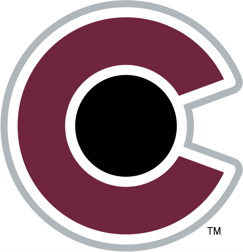 Colorado Avalanche Secondary Logo 2017 18 Pres Co In Burgundy Black And Silver Based Off Of The State F Colorado Avalanche Logo Colorado Avalanche Logos