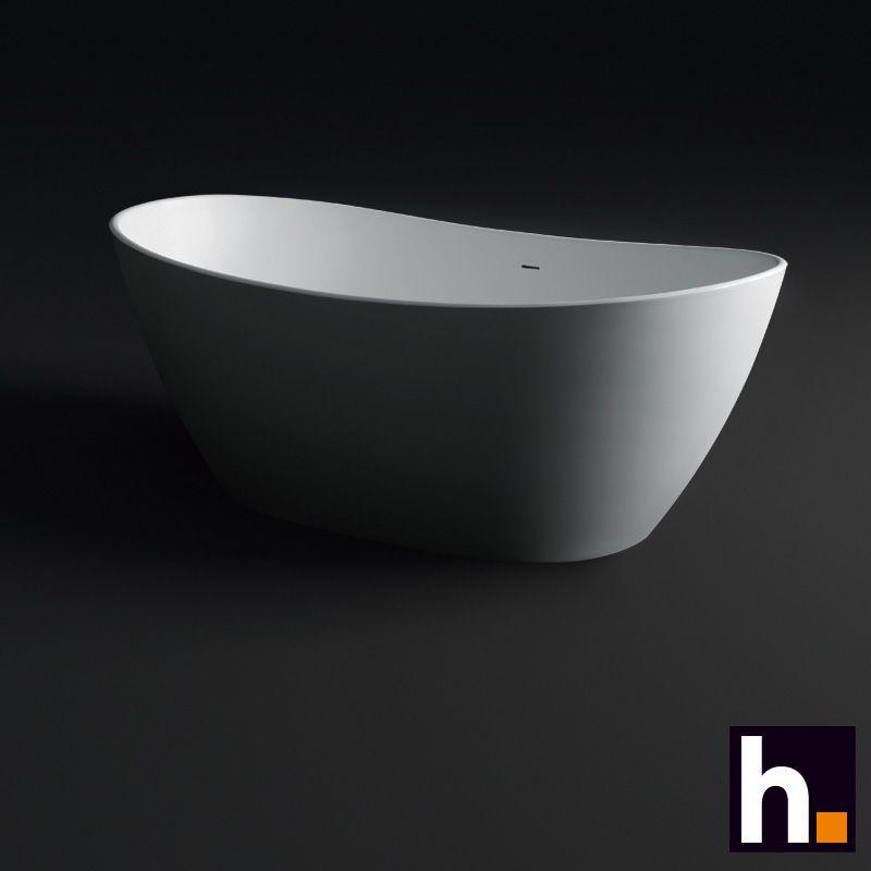 Produktinformation Freistehende Badewanne Ovoid 180 X 90 X 62 Cm  Mineralguss In Ihrem Design Konzentriert Sich