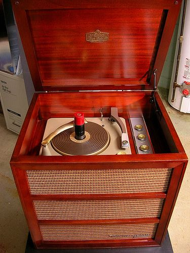 RCA Victor Model 6-HF-4 circa 1955 | Vintage Hi-Fi | Record player