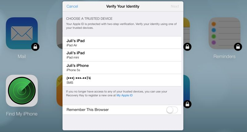 Icloud Com Now Utilizing Two Factor Authentication Https Www