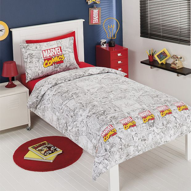 Marvel Comic Heroes Quilt Cover Set | Target Australia | Things I ... : marvel quilt cover - Adamdwight.com