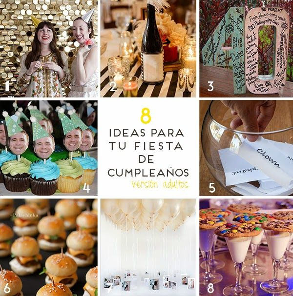 Fiesta cumplea os decoraci n celebraciones ideas blog - Decoracion de cumpleanos adultos ...