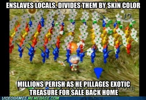 Pikmin The Real Story Video Games Funny Funny Games Geeky Humor