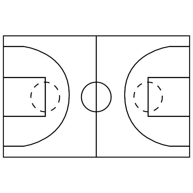 Basketball Court Image Free Vector Design Template Templates Printable Free Templates