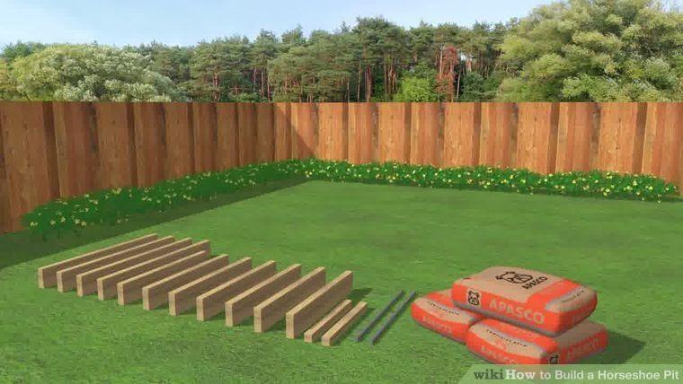 Build a Horseshoe Pit | Backyard projects, Diy yard games ...