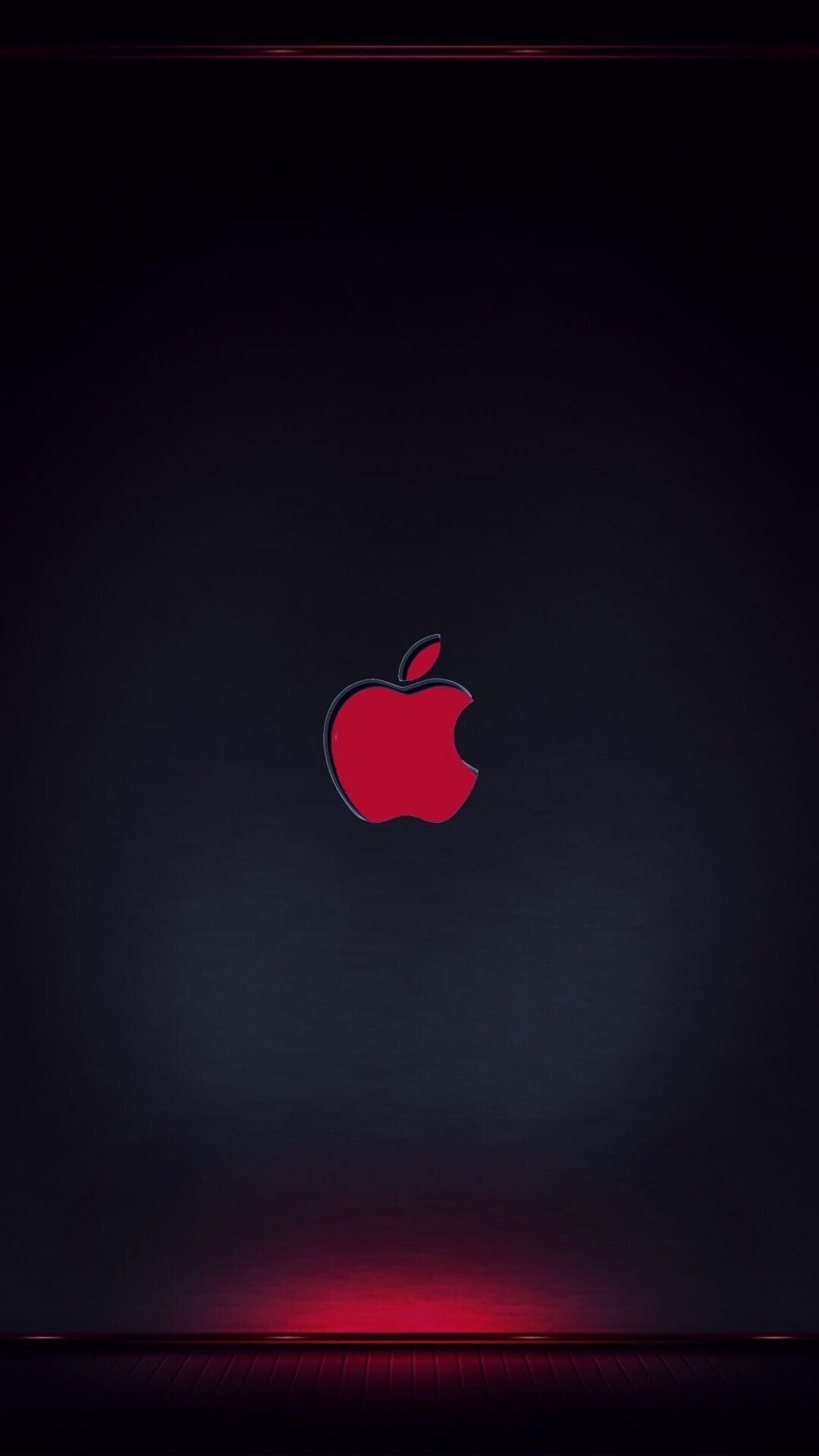 Iphone Xr Wallpaper Apple Logo Di 2020 Wallpaper Iphone