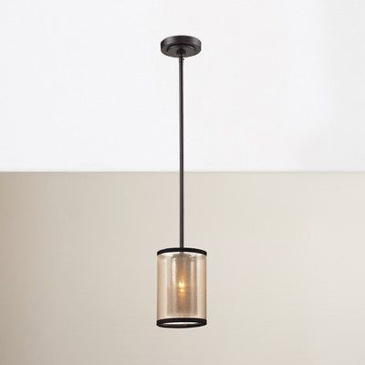 Brayden Studio Dailey 1 Light Mini Pendant