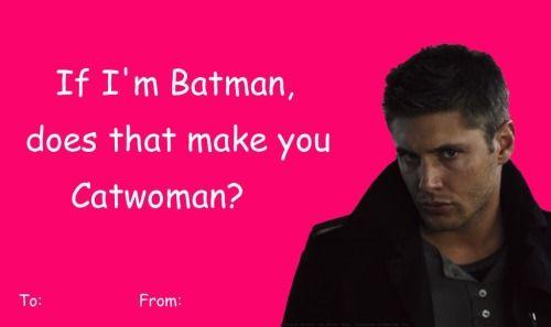 spn valentines day card   Tumblr   funny valentine\'s   Pinterest ...