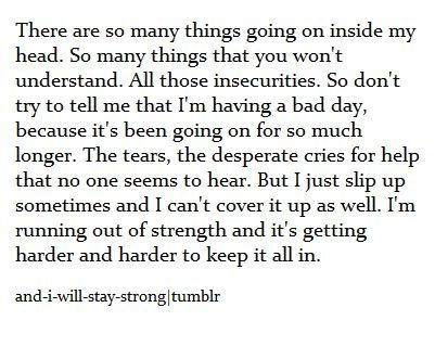 quotes about life sad depression