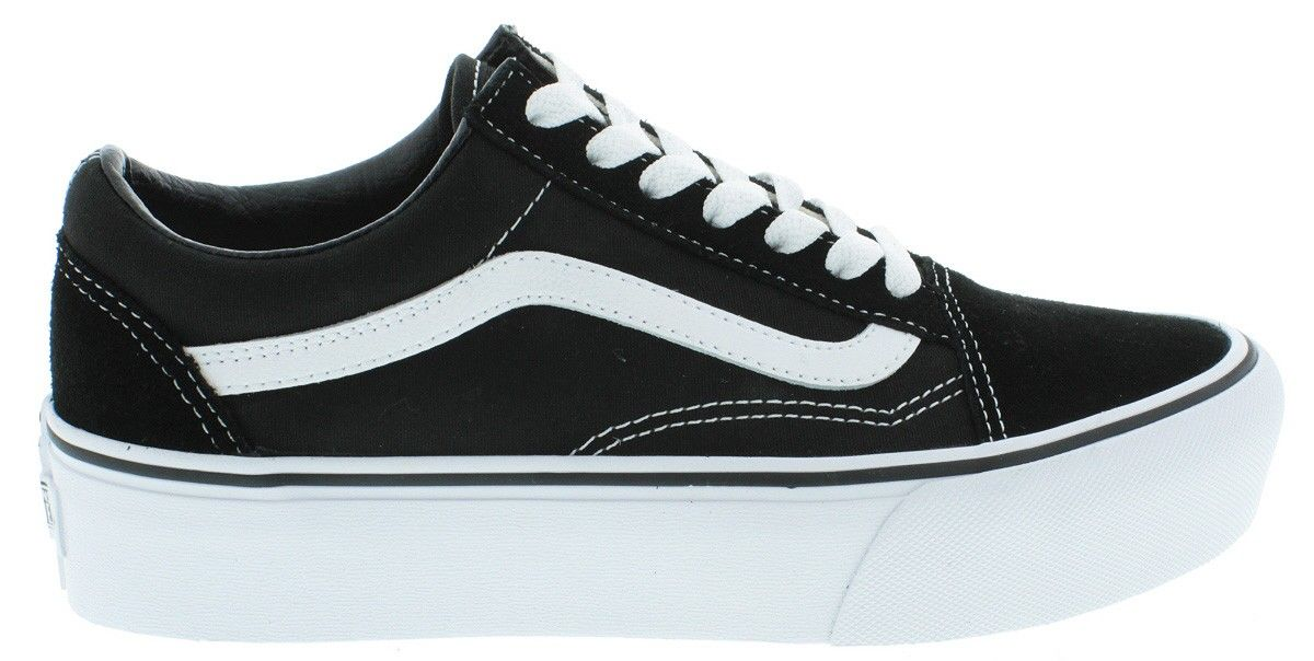 VANS VA3B3UY28 UA Old Skool Platform Black/White | Vans ...