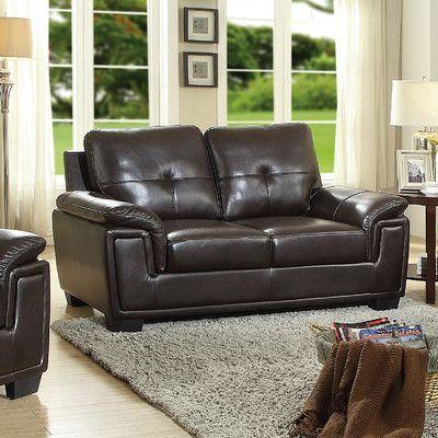 Glory Furniture Reno Loveseat Color: