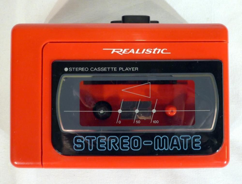 Details about Retro 90s Realistic Stereo-Mate SCP-36 Vintage