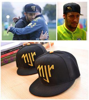 b12dd7dc18bc8 Free Shipping Neymar JR njr Brazil Brasil Baseball Caps hip hop Sports  Snapback cap hat chapeu de sol bone masculino Men Women