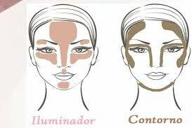 Efeito sombra e luz para maquiagem profissional, mudando completamente a aparencia de sua cliente! Use e abuse!