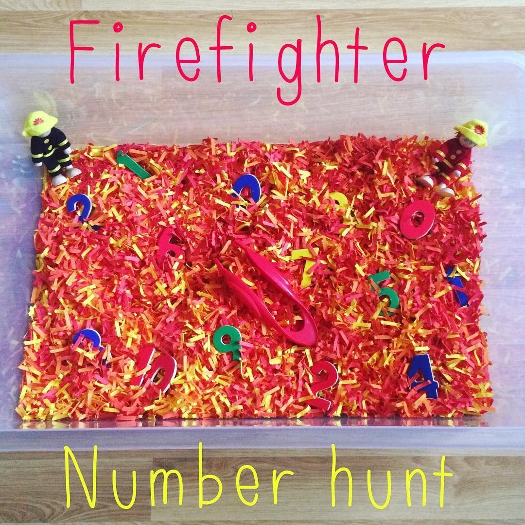 Firefighter Number Hunt