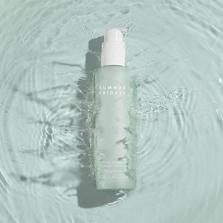 Summer Fridays Super Amino Gel Cleanser In 2020 Gel Cleanser Skincare Products Photography Face Cleanser