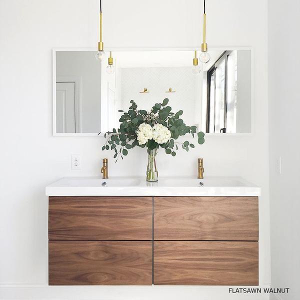 SHOP - Floating Shelves | Ikea bathroom, Ikea vanity, Ikea ...