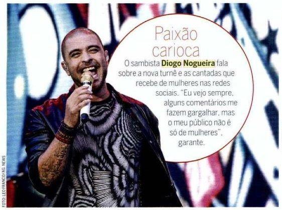 #DiogoNogueira 2015 #RevistaQuem