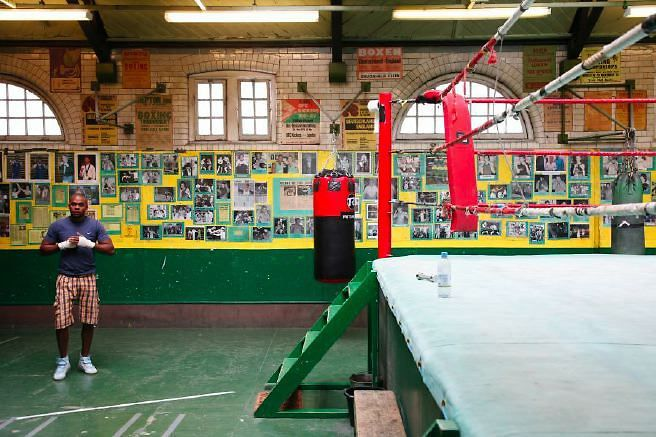 Very Atmospheric And Photogenic Boxing Gym In East London