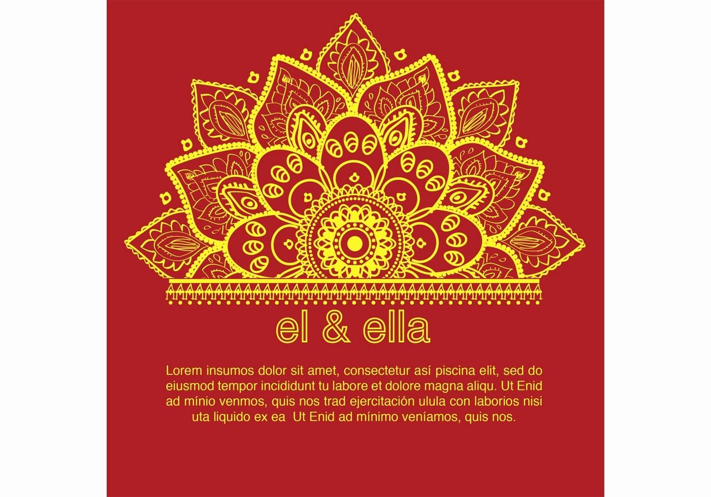 wedding card template free download beautiful indian