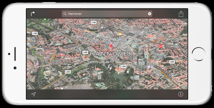 """Apple añade más ciudades a Flyover; amplia """"Cerca"""" a más países - http://www.actualidadiphone.com/apple-anade-mas-zonas-flyover/"""