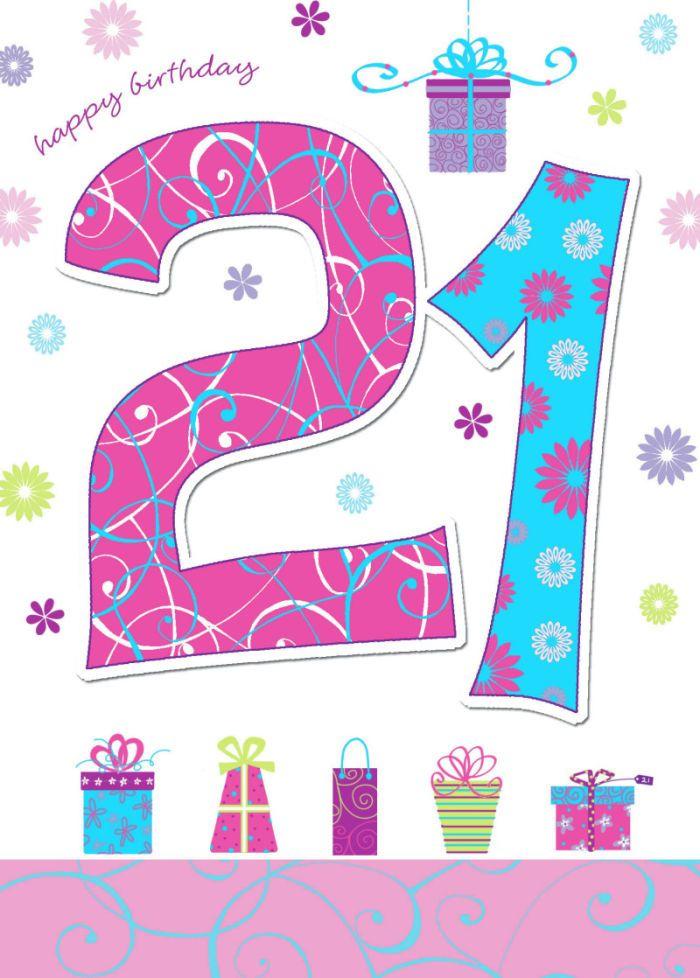 Geburtstagswunsche fur 21
